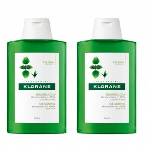 Klorane Champú a la Ortiga 400 ml - Duplo 50% la 2ª unidad