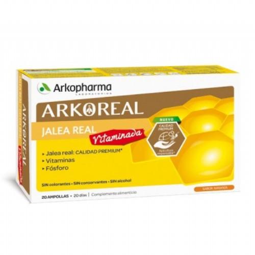 ARKO JALEA REAL VITAMINADA 20 Ampollas bebibles