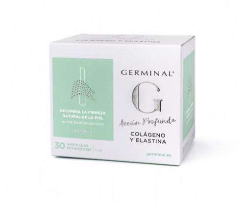 Germinal Accion Profunda Colageno Elastina 30 ampollas