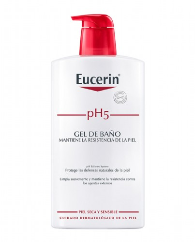Eucerin pH5 Gel de baño 1000  ml