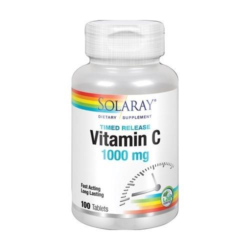 Vitamina C 1000 mg Solaray 100 tabletas