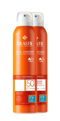 Rilastil Sun Transparent Wet Skin SPF50+ Duplo 2 x 200 ml