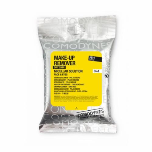 Comodynes Make-Up Remover Dry Skin 20 toallitas