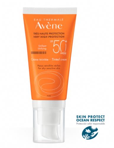 Avène Crema Color SPF50+ 50 ml