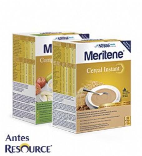 Meritene Cereal Instant 8 Cereales con Miel 600 g