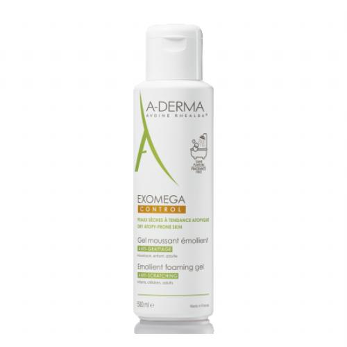 A-Derma Exomega Control Gel Limpiador 500 ml