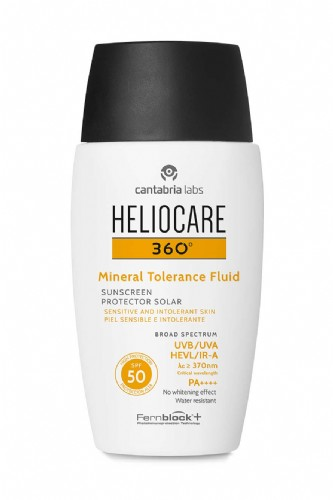 Heliocare 360º Mineral Tolerance Fluid SPF 50 50 ml