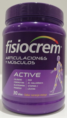 FISIOCREM ACTIVE ARTICULACIONES Y MÚSCULOS 540 g