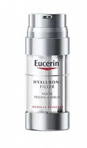 EUCERIN HYALURON FILLER PEELING & SERUM NOCHE 30 ML