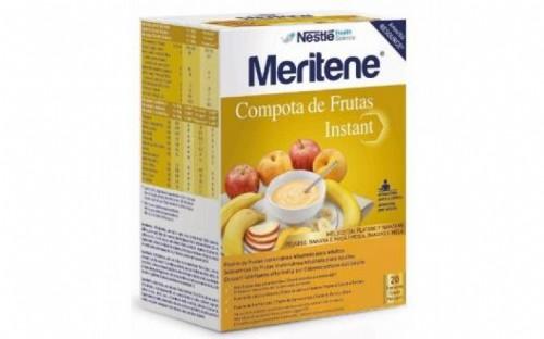 Meritene Compota de Frutas Instant  Melocoton/Plátano/Manzana 700 g