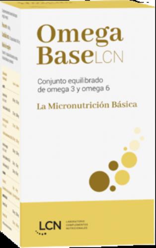 Omega base LCN 60 capsulas blandas