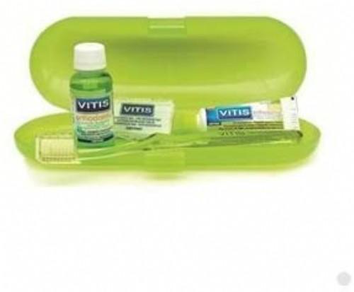 Vitis Orthodontic Kit (Cepillo + Cera + Pasta 15 ml + Colutorio 30 ml)