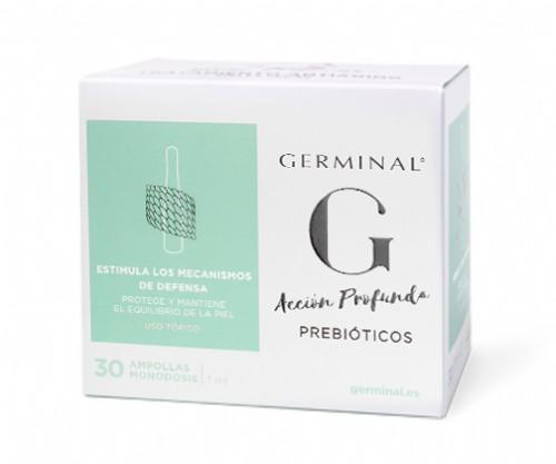 Germinal Accion Profunda Prebiotico 30 ampollas