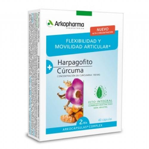 Arkocápsulas Complex Harpagofito y Cúrcuma 40 cápsulas
