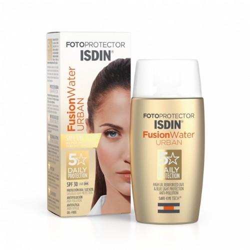 Isdin Fotoprotector Fusion Water Urban SPF 30 50 ml