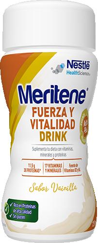 Meritene Fuerza y Vitalidad Drink Vainilla pack 6 unidades x 125 ml