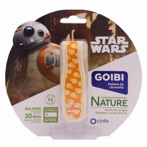 Goibi Pulsera Infantil de Citronella Star Wars BB8