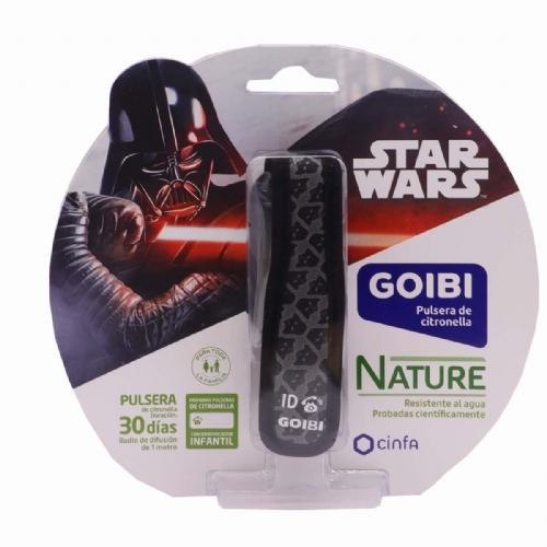 Goibi Pulsera Infantil de Citronella Star Wars Darth Vader