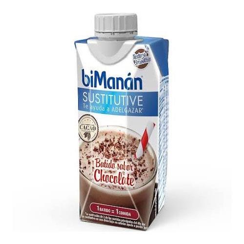 Bimanan sustitutive batido de chocolate (330 ml)