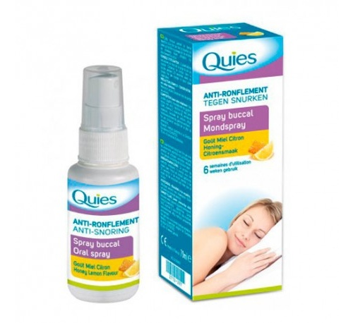 Quies spray bucal antirronquidos (miel y limon 70 ml)