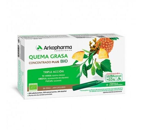Arkopharma Quemagrasa 20 ampollas