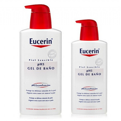 Eucerin Gel pack ahorro 1000 ml + 400 ml