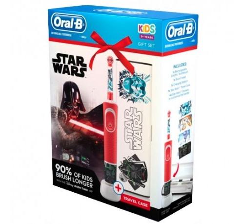 Oral-B Kids Cepillo Dental Eléctrico Recargable Infantil Star Wars