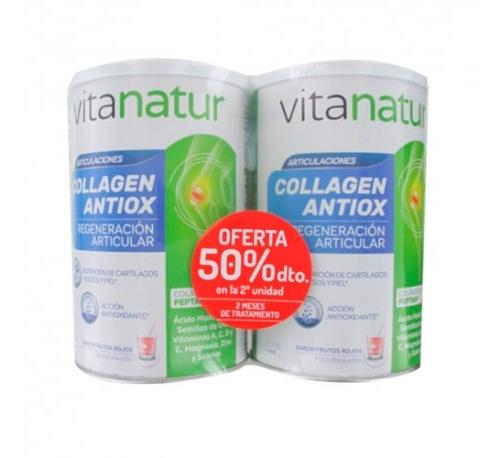Vitanatur collagen antiox pack duplo 360g