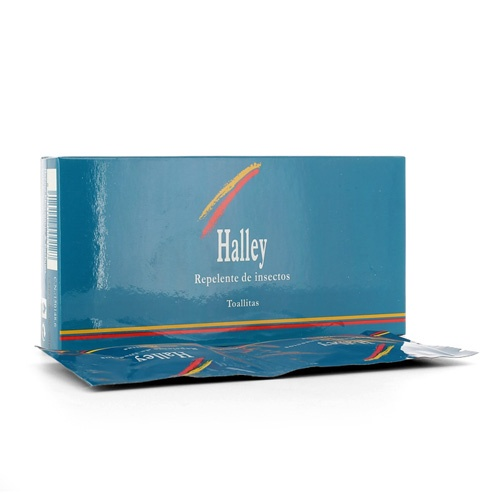 Halley Toallitas Repelente de Insectos 10 unidades