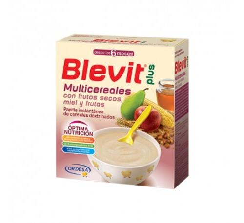 BLEVIT PLUS MULTICREALES CON FRUTOS SECOS 600 G