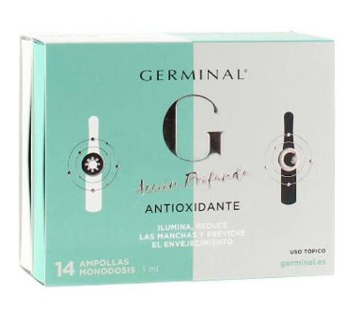 Germinal Acción Profunda Antioxidante Noche y Día 14 ampollas