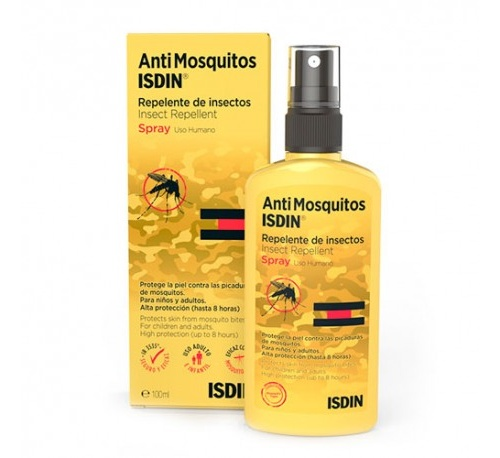 AntiMosquitos Isdin Repelente de Insectos Spray 100 ml