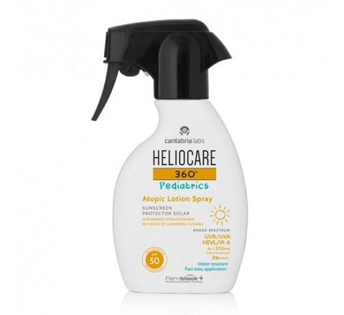 Heliocare 360º Pediatrics Atopic Lotion Spray SPF 50 250 ml