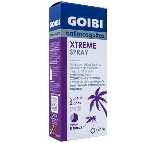 Goibi Xtreme Spray Antimosquitos 75 ml