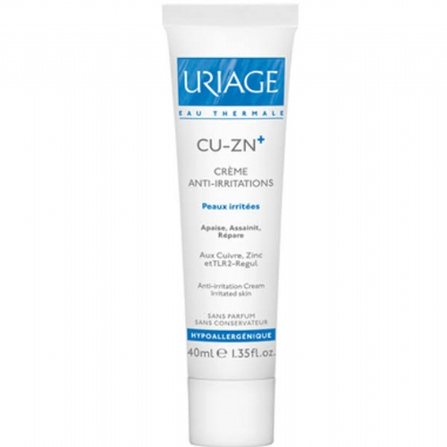 Uriage cu-zn (cobre-zinc) + crema (40 ml)