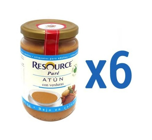 Resource Puré de Atún con Verduras 300 g
