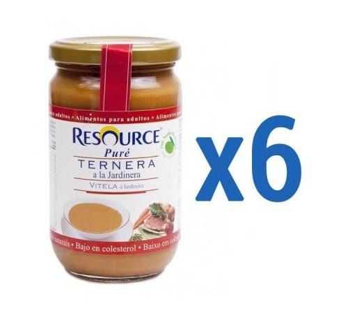 Resource Puré Ternera Jardinera 300 g