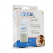 Dr Brown's Bolsas para guardar leche materna 25 u