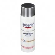 Eucerin antiedad hyaluron filler cc cream (color claro 50  ml)