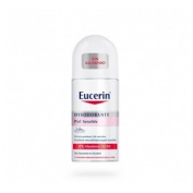 Eucerin desodorante 0% aluminio (roll-on 50 ml)