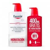 Eucerin pack ahorro locion ultraligera 1l+400 ml