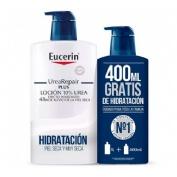 Eucerin Pack Ahorro Loción UreaRepair 1 litro + 400 ml gratis