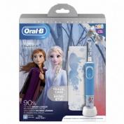 Oral-B Kids Cepillo dental eléctrico recargable (frozen ii con estuche de viaje)