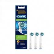 Oral B Recambio Cepillo Dental Eléctrico Cross Action 3 undades
