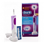 CEPILLO DENTAL ELECTRICO RECARGABLE - ORAL-B VITALITY PRECISION CLEAN (COLOR MORADO)