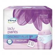 Tena protective underwear plus - braga absorb inc orina (t - med 12 u)