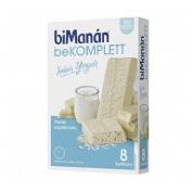 Bimanan beKomplett sabor yogur 8 barritas