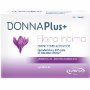 DONNAPLUS+ FLORA INTIMA 14CAPS