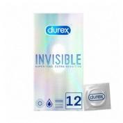Durex Invisible Extra Sensitivo 12 preservativos