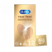 Durex Real Feel 12 preservativo sin latex